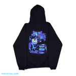 Night Shift Office Cats Hoodie - Night Shift Office Cats Hoodie