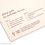 No Summer No Cry - No Summer No Cry