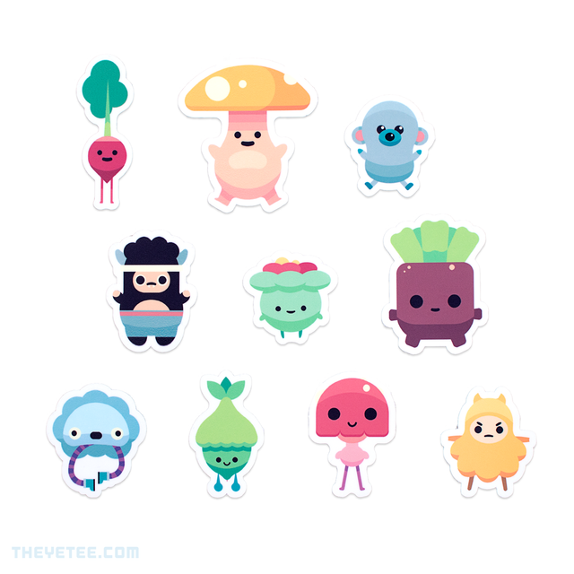 Ooblets Sticker Pack