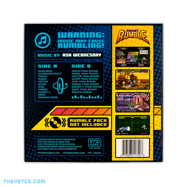 Pocket Rumble Soundtrack | The Yetee