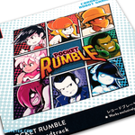 3 by 3 grid of players Tenchi, Naomi, Hector, Keiko, Quinn, Subject 11, Agent Parker and June. - Pocket Rumble Soundtrack