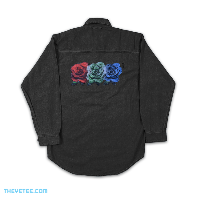 RGB Roses Denim (Black)