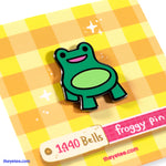 Ribbit Seat Pin - Ribbit Seat Pin
