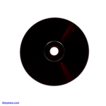 The reflective side of the CD is a deep dark red.  - Synthetic Core 88 CD