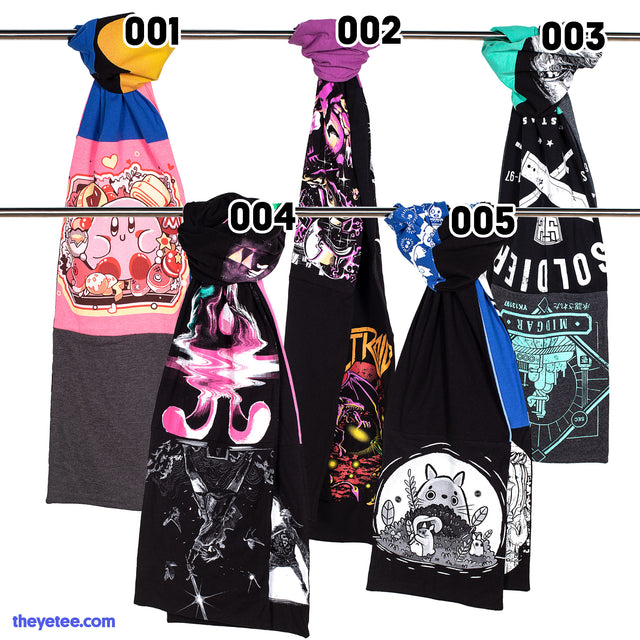 Yetee Upcycling Scarves Collection #1 - Yetee Upcycling Scarves Collection #1