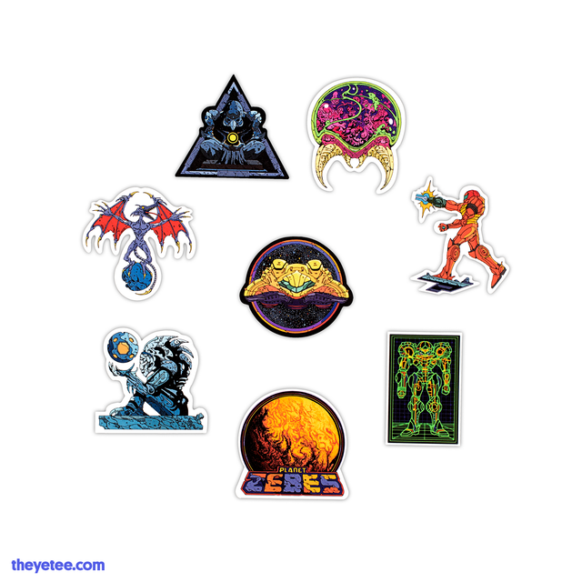 SPACE HUNT STICKERPACK - SPACE HUNT STICKERPACK