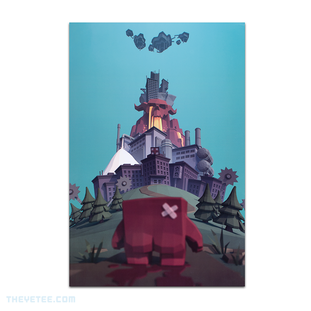Meat Boy Poster - Meat Boy Poster