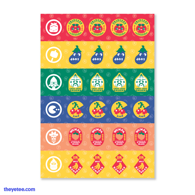 Produce Stickers - Produce Stickers