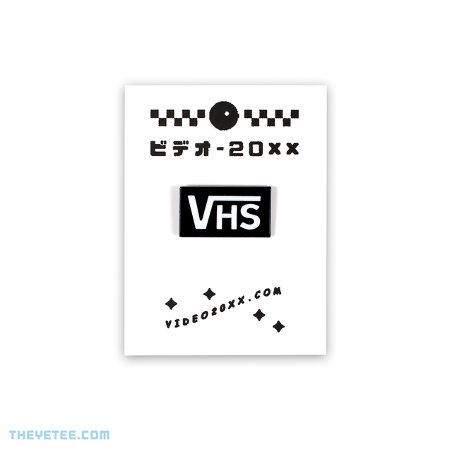 VHS Off The Wall Pin