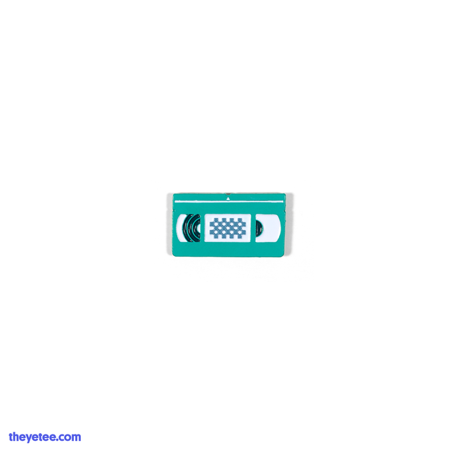 VIDEO-PIN (TEAL) - VIDEO-PIN (TEAL)