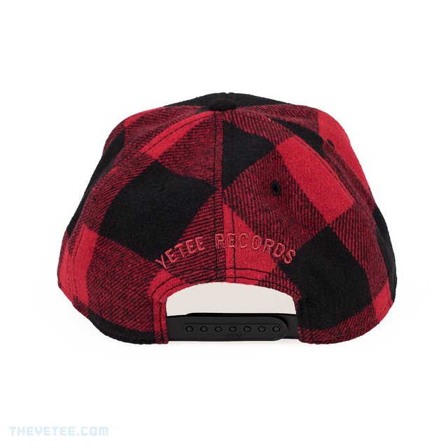 Yetee Records Flannel Snapback