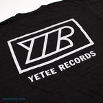 Yetee Records Back Print - White - Yetee Records Back Print - White