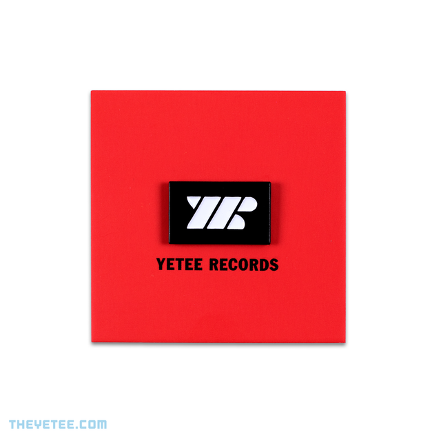 Yetee Records Pin!