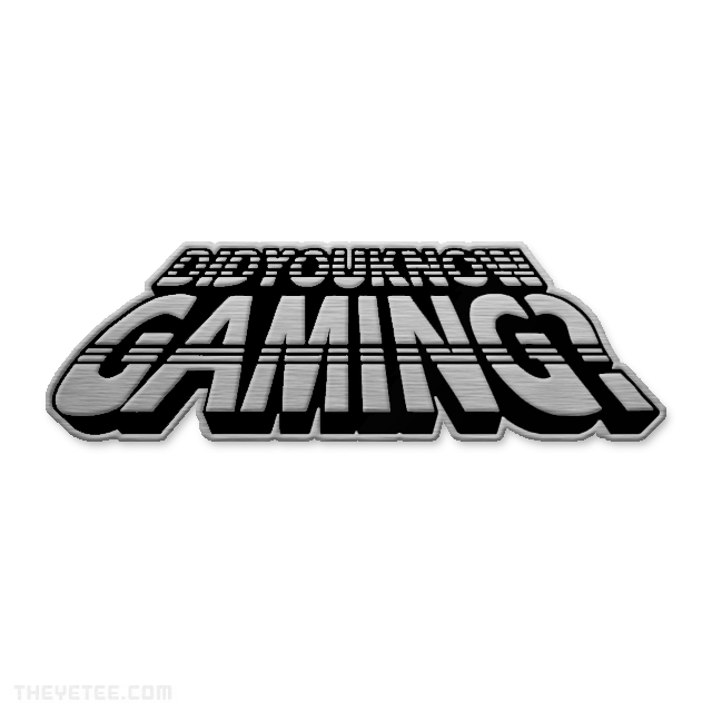 Did You Know Gaming Pin