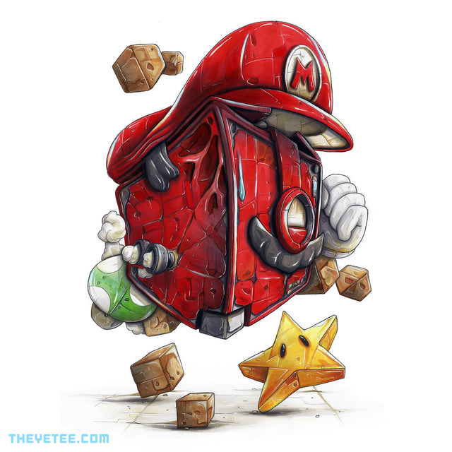 DeathSquared PLUMBER Print - DeathSquared PLUMBER Print