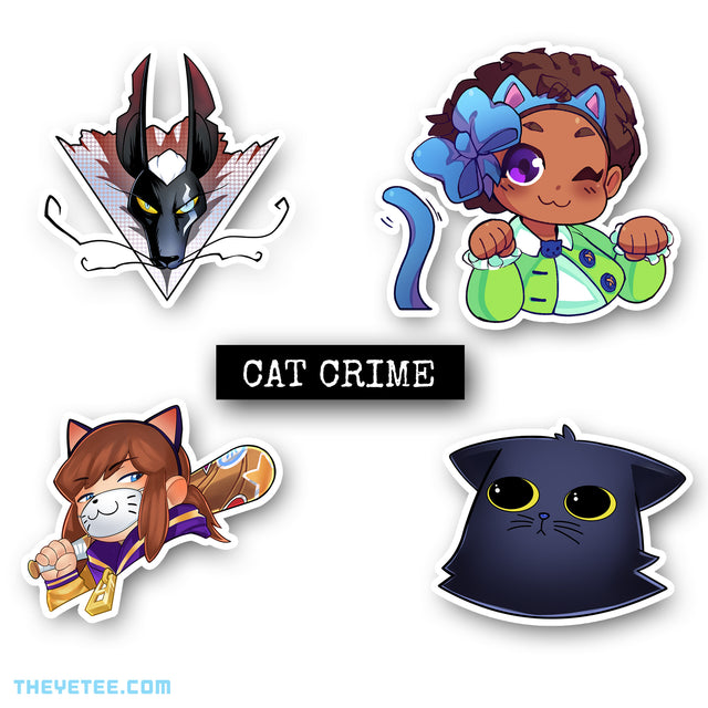 Nyakuza Crime Sticker Collection 2