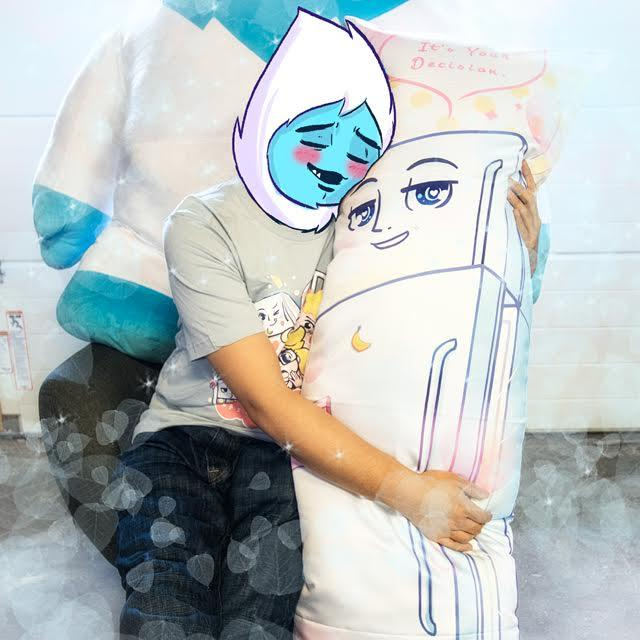 Fridge Senpai Pillow