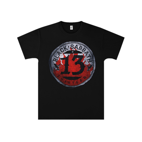Black Sabbath Circle 13 T-Shirt