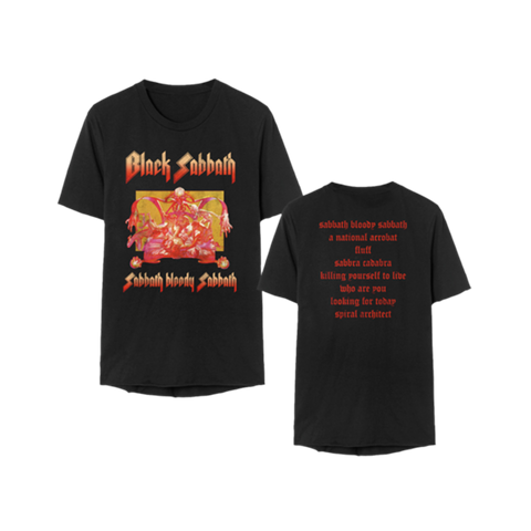 Sabbath Bloody Sabbath Album Song T-Shirt