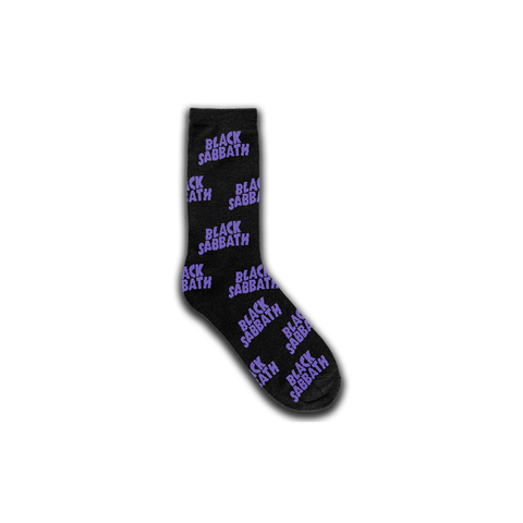 Black Sabbath Repeat Logo Socks