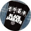 Black Sabbath Denim Patch Jacket