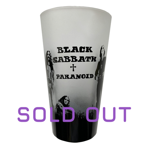 Limited Numbered Collectible Paranoid Pint Glass