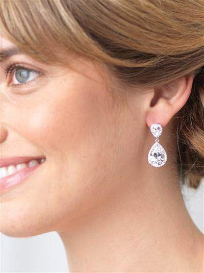 Devon CZ Earrings