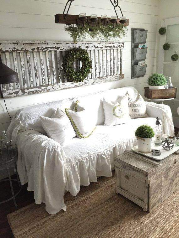 Ruffled Slipcover