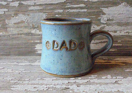 Handmade Pottery DAD mug