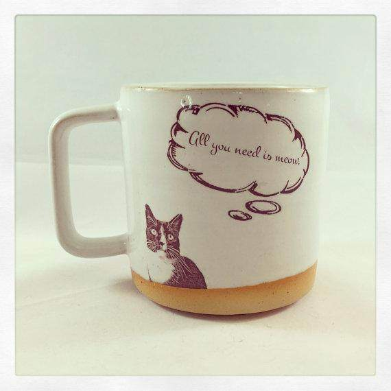 "Baby Jesus ""All you need is Meow"" Mug"