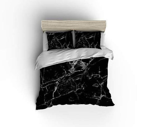 White Marble Bedding