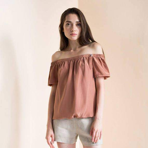 Women's Off the shoulder top boho Abigail top