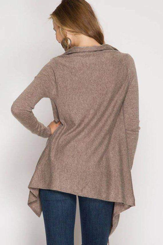 Cardigan Wrap Sweater