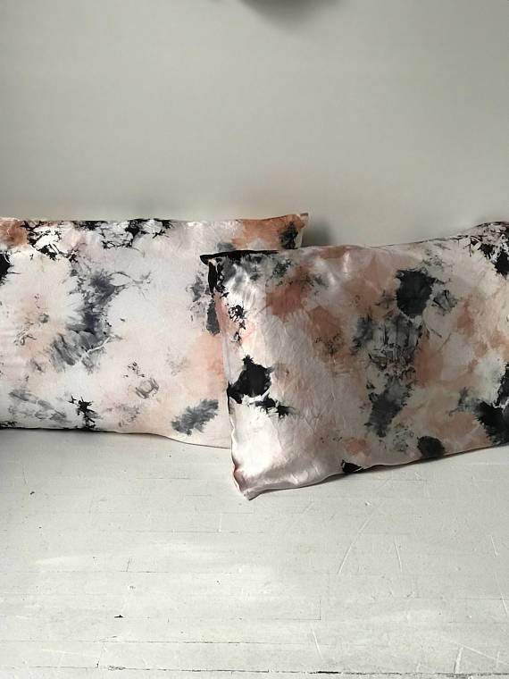 Hand Dyed Shibori Bohemian Pillowcases