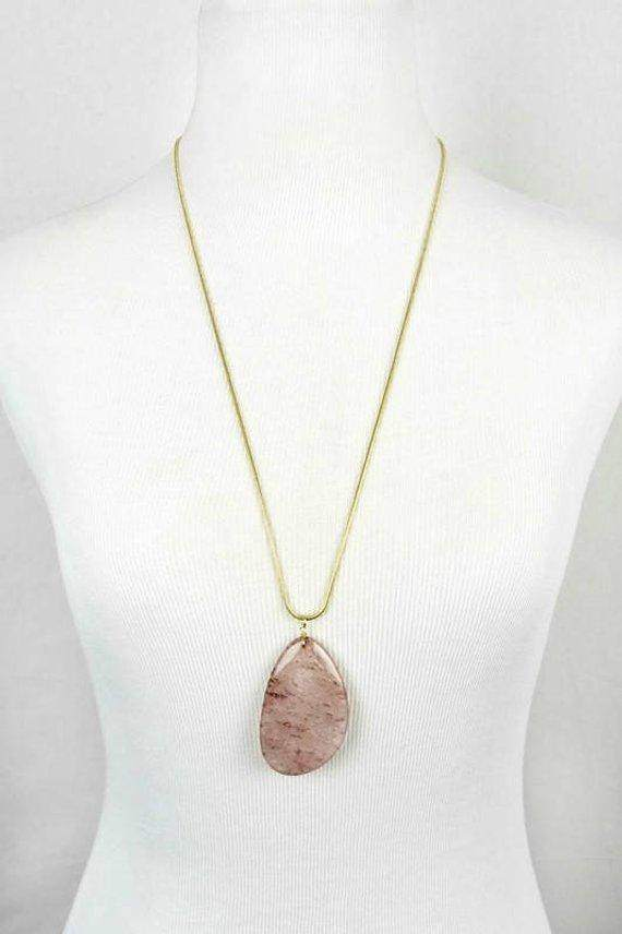 Stone Pendant Necklace - Maven Flair