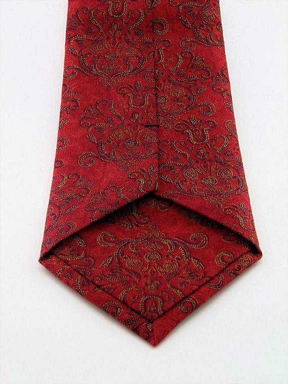 Mens Red and Gold Ties