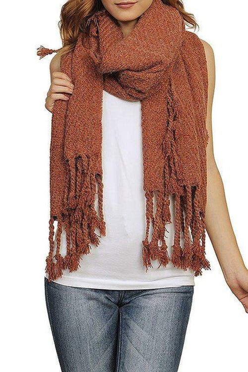 Heather Fringed Wrap
