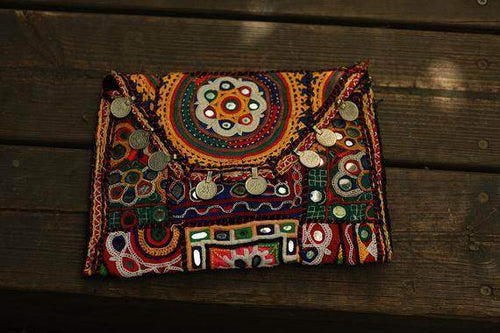 OOAK Banjara Handmade Colorful Handbag - Maven Flair