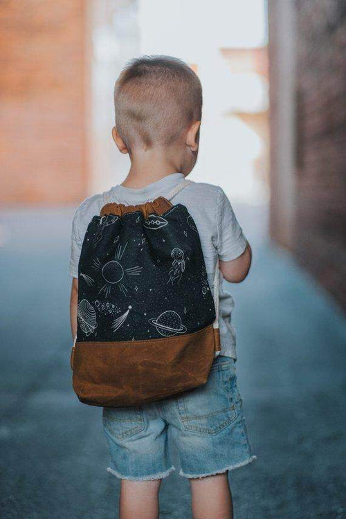Waxed Canvas Childrens Bag,