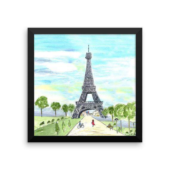 Paris France Framed Print