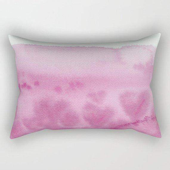 Pink Watercolor Comforter
