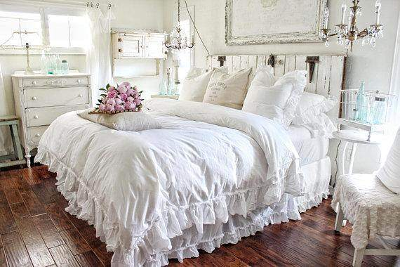 Cottage Ruffled Bed Skirt