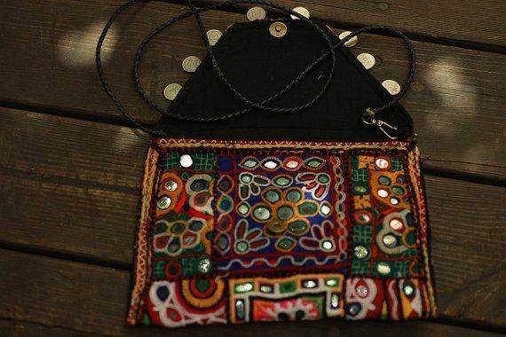 Bohemian Vintage Crossbody One Piece Handbag - Maven Flair