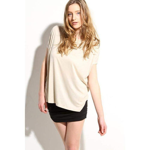 Oversized Womens Fashion Top Soft Blouse Shirt