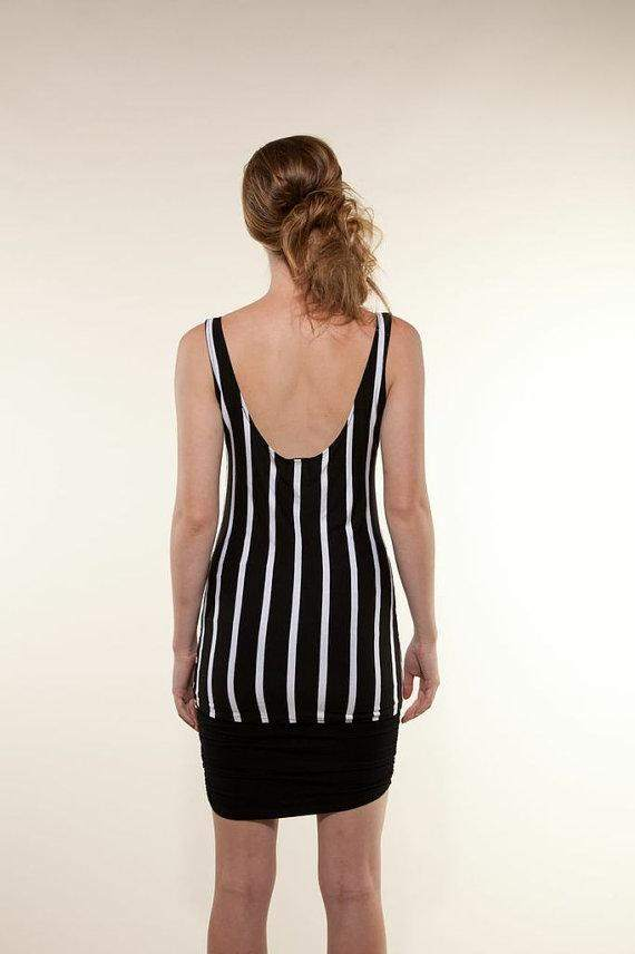 Womens Striped Blouse