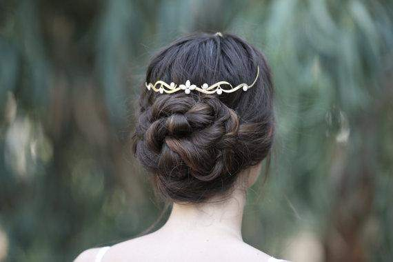 The Trible Wreath Bridal Forehead Band