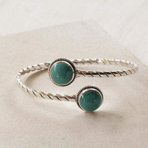 Turquoise Silver Armband