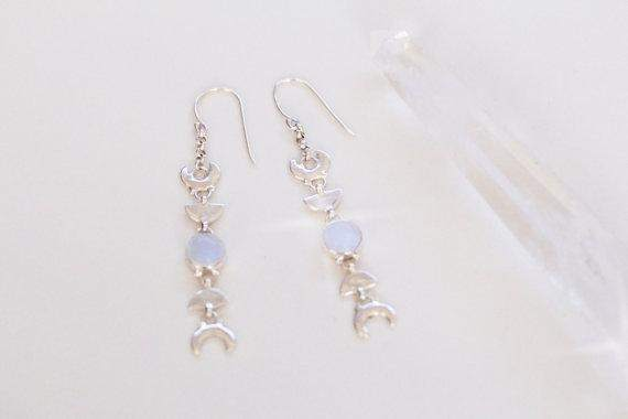 Rainbow Moonstone Earrings - Maven Flair