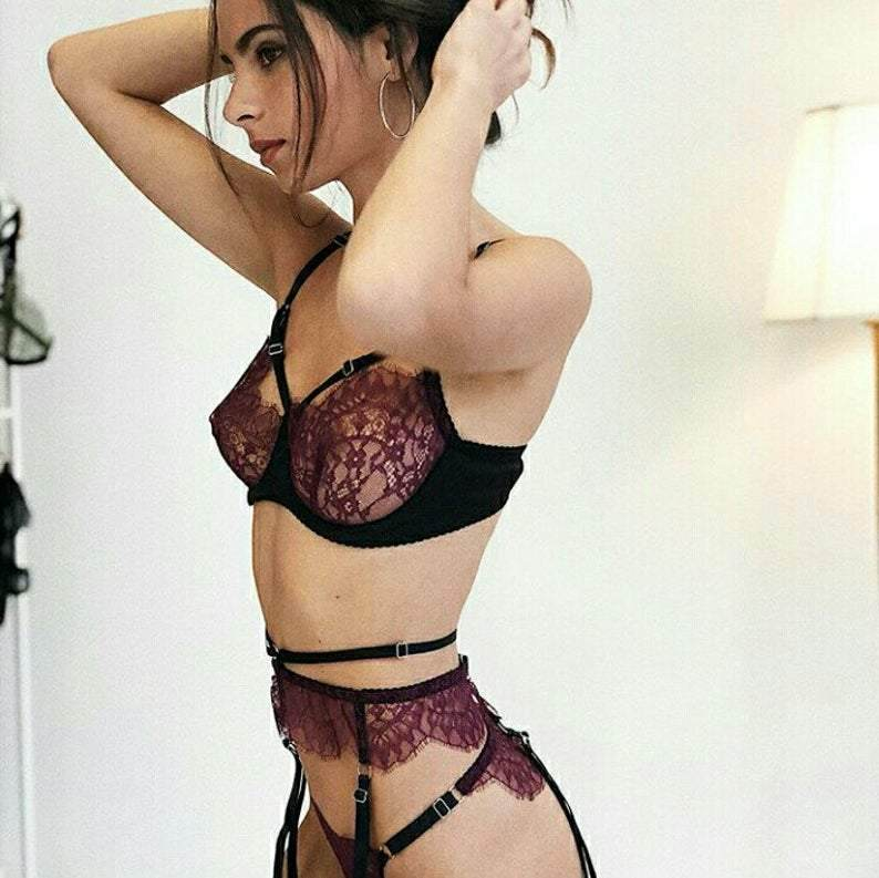 Lace Lingerie Set - Maven Flair