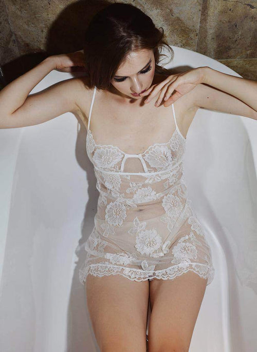 Bridal Lace Lingerie Sleepwear - Maven Flair